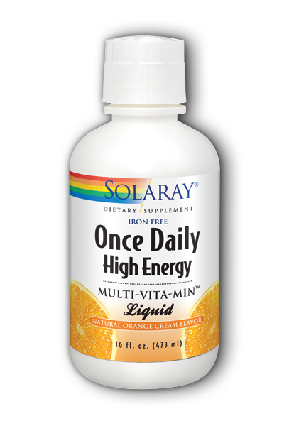 Solaray: Once Daily High Energy Liquid Multi 16oz.