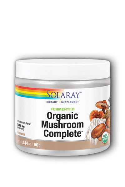 Solaray: Organic Fermented Mushroom Complete 60 gram powder