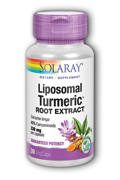 Solaray: Liposomal Turmeric Root Extract 30 ct Vcp