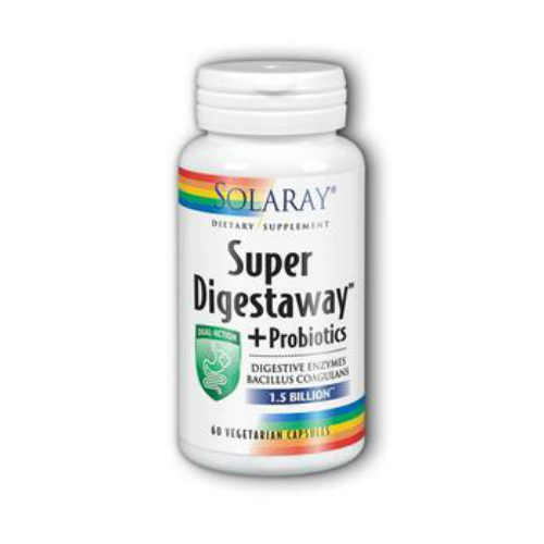 Solaray: Super Digestaway Plus Probiotics 60 ct Vcp