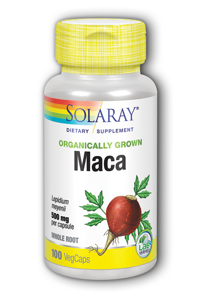 Organic Maca Root 500mg, 100ct