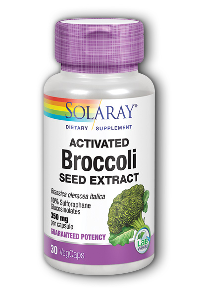 Activated BroccolI Seed Extract 350mg