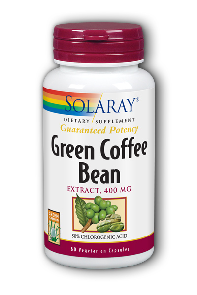 Green Coffee Bean Extract 400mg, 60 vcaps