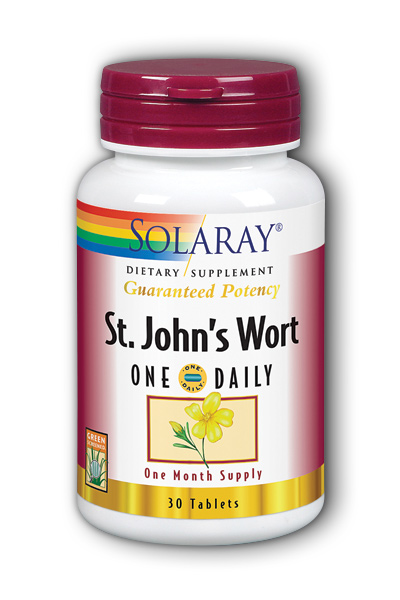 Solaray: One Daily St. John's Wort 30ct 900mg