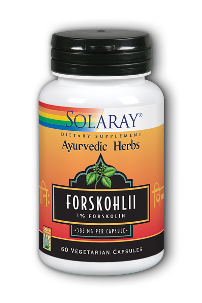 Solaray: Forskohlii Root Extract 60ct 385mg