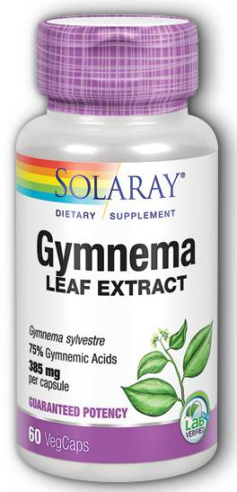 Gymnema Leaf Extract, 60ct 385mg