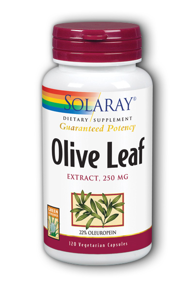 Olive Leaf Extract, 120ct 250mg - 22%