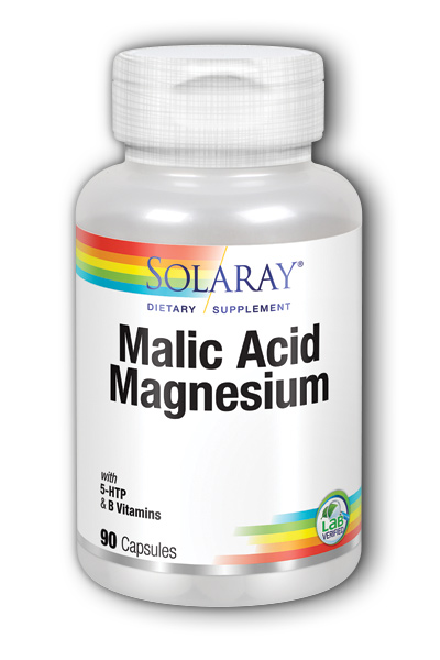 Solaray: Malic Acid with Magnesium 90ct 133mg