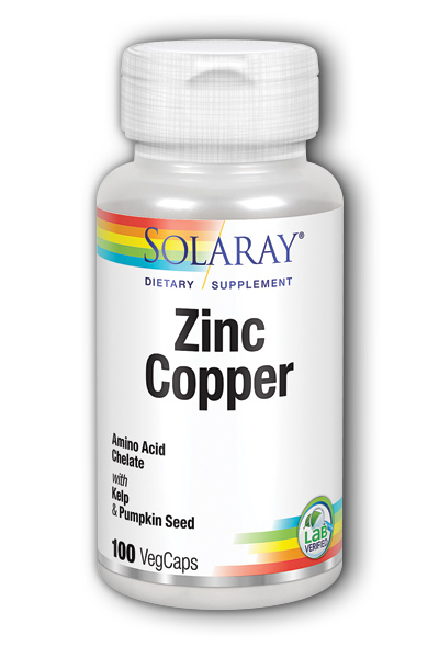 Zinc Copper, 100 ct
