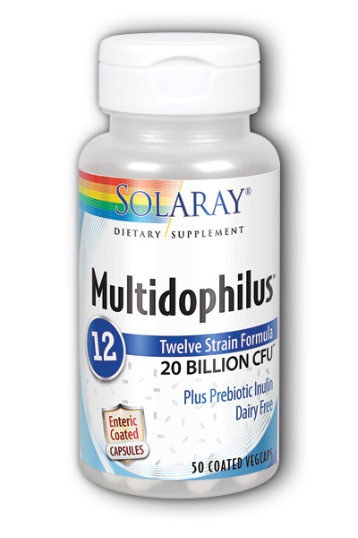 Multidophilus 12, 50ct 20bil