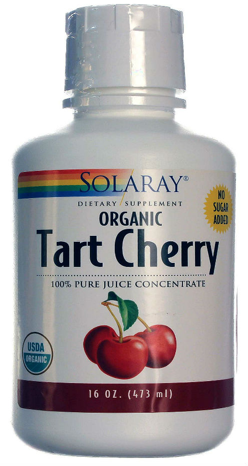 Solaray: Tart Cherry Juice Organic 16 fl oz