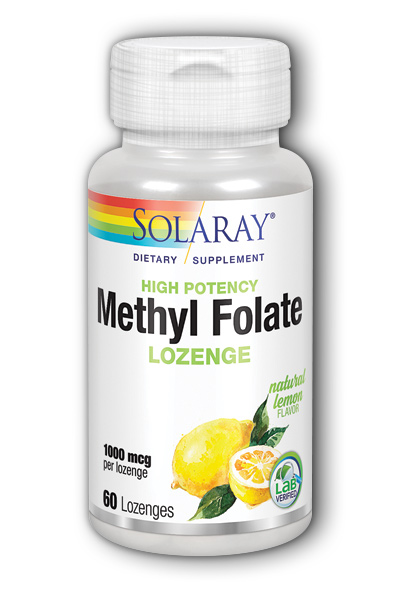 Methyl Folate (Lemon), 60 ct Loz