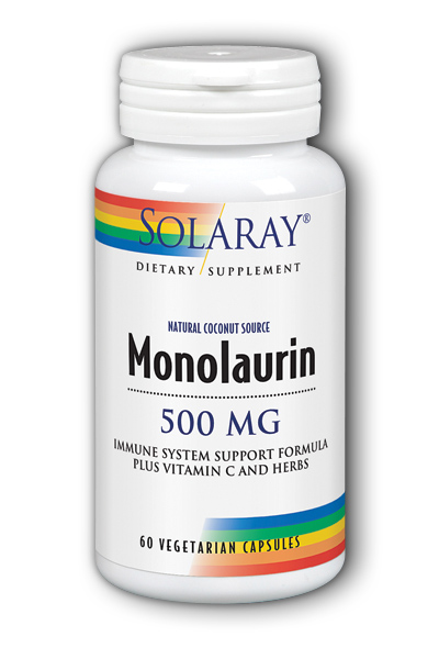 Monolaurin 500mg, 60ct
