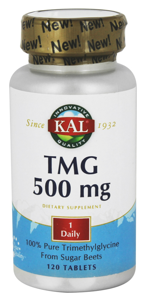 Trimethylglycine (TMG) 500mg, 120ct
