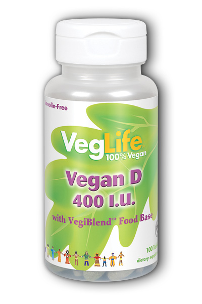 Vegan D 400 IU, 100ct 400iu