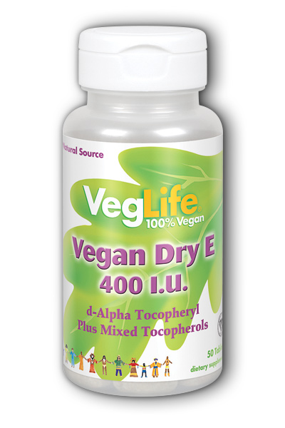 Vegan Dry E 400iu Dietary Supplement