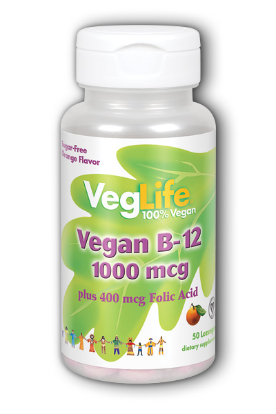 Vegan B-12, 50ct 1000mcg