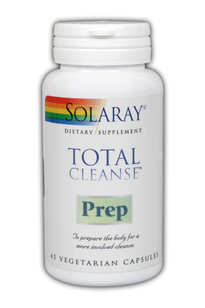 Solaray: Total Cleanse Prep 45 Vcaps