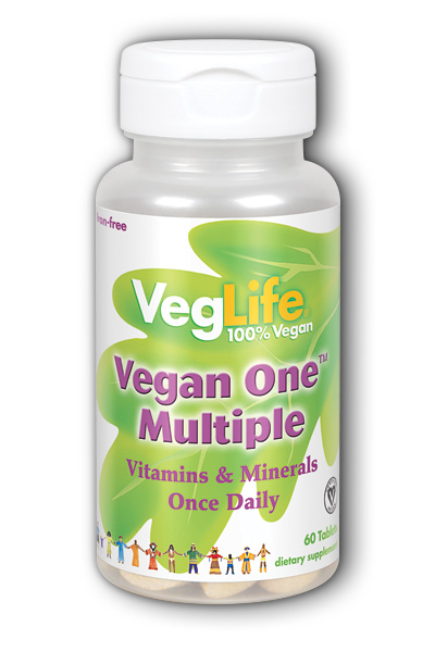 Vegan One Multiple, 60 ct Iron-Free