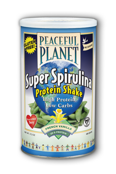Peaceful Planet Super Spirulina Protein Shake Dietary Supplement