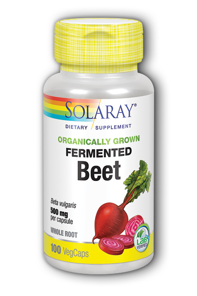 Solaray: Organically Grown Fermented Beet Root 100 ct Vcp