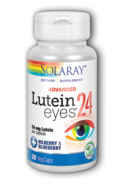 Solaray: Lutein Eyes Advanced 30ct 24mg