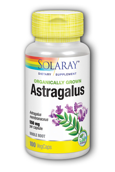 Astragalus Root Organically Grown 550mg Dietary Supplements