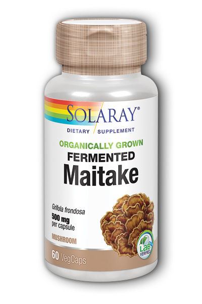 Solaray: Organically Grown Maitake Mushroom 60 ct Vcp