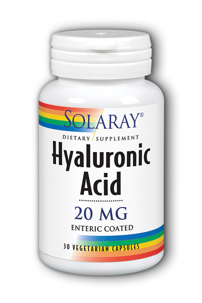 Solaray: Hyaluronic Acid 30ct 20mg