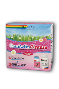 Solaray: Cranactin Cleanse Kit 2 pk
