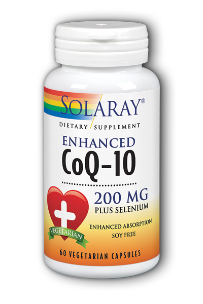 Solaray: CoQ10 Enhanced (200 mg) 60 ct Vcp