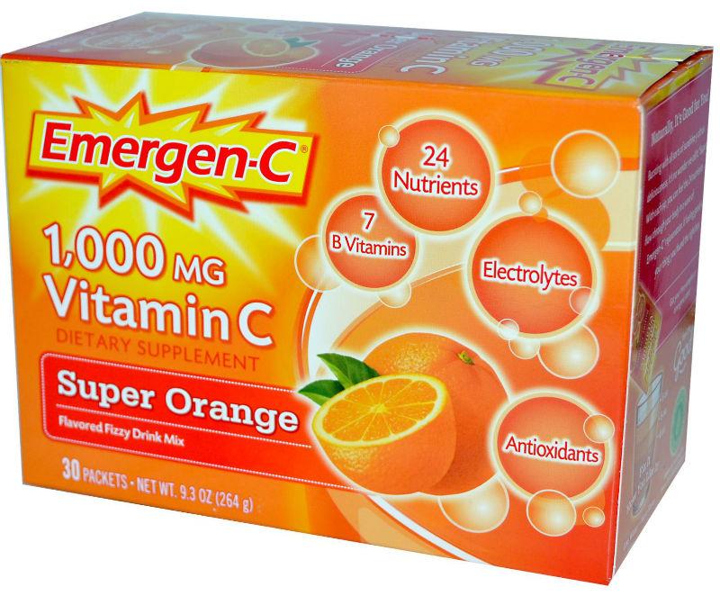 ALACER: Emergen-C Super Orange 10 Packets