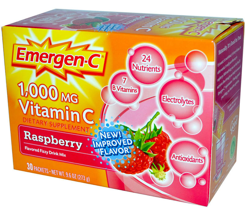 ALACER: Emergen-C Raspberry 10 Packets