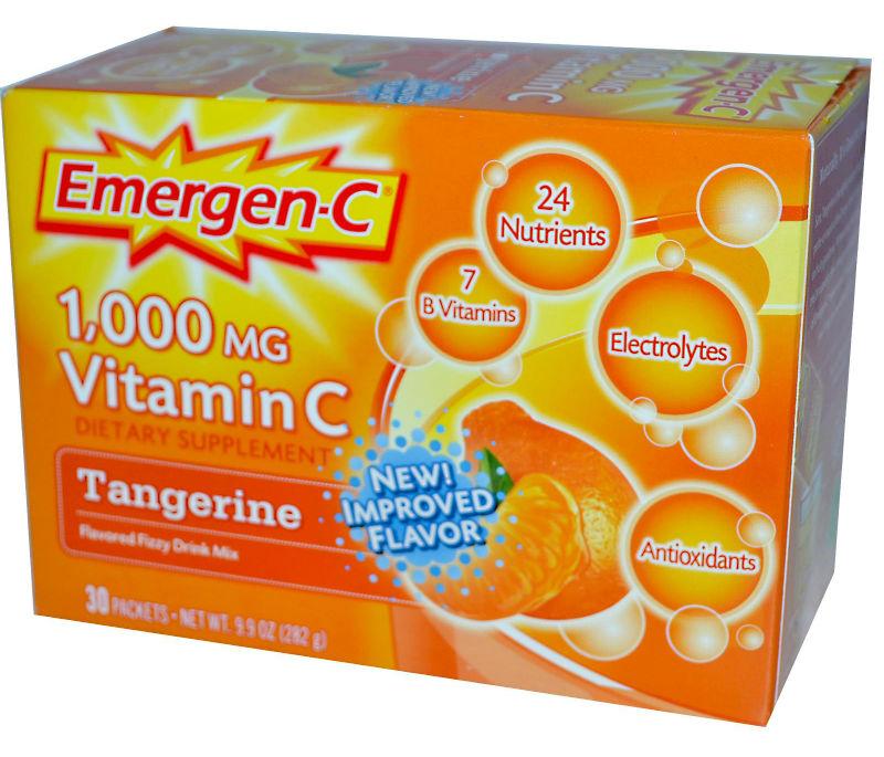 ALACER: Emergen-C Tangerine 10 Packets
