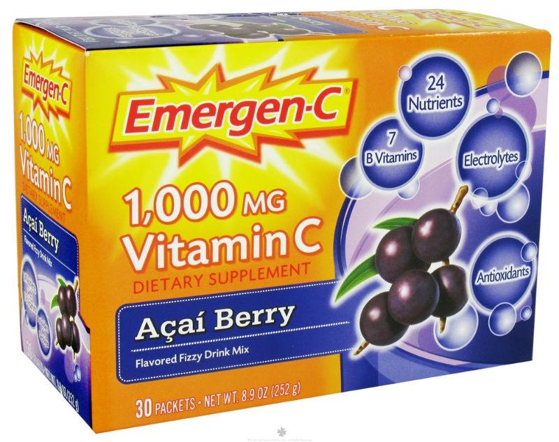 ALACER: Emergen-C Acai Berry 10 Packets