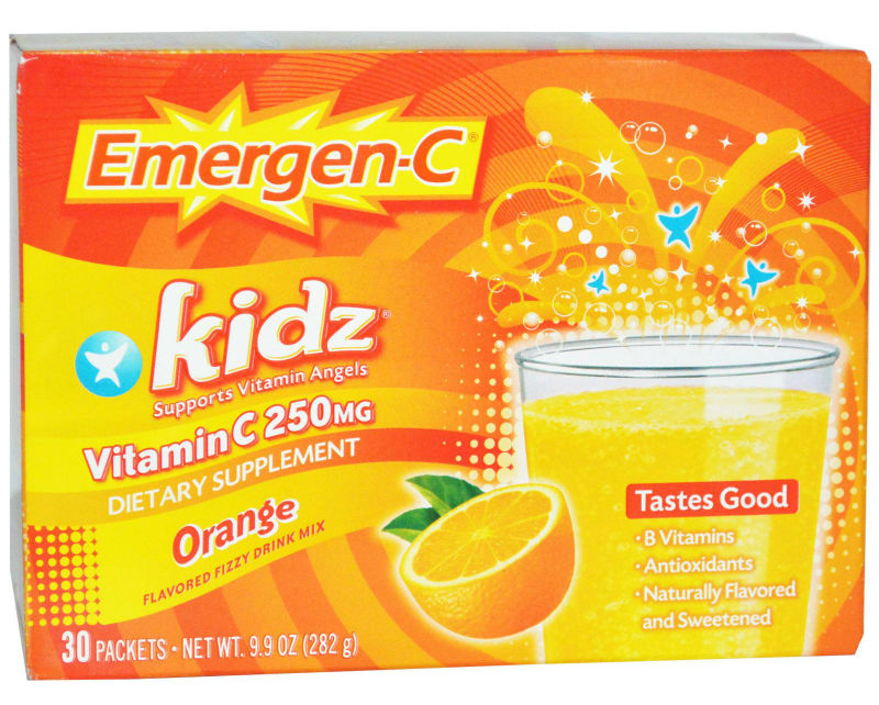 ALACER: Emergen-C Kidz Orange 30 packets