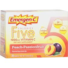 ALACER: Emer'gen-C Five Peach Passion Fruit 30 ct