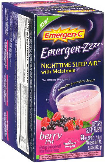 ALACER: Emer'gen-C ZZZ Berry PM 24 ct