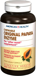 Papaya Enzyme Original Chewable, 250 tabs