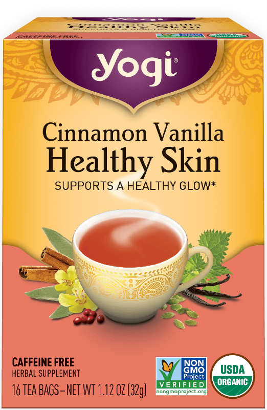 YOGI TEA: Healthy Skin Cinnamon Vanilla 16 bag