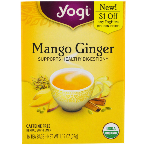 Yogi Tea Mango and Ginger, 16 bag