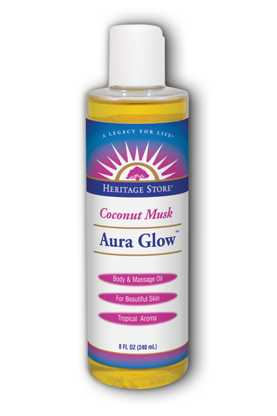 Aura Glow Skin Lotion Coconut, 8 fl oz