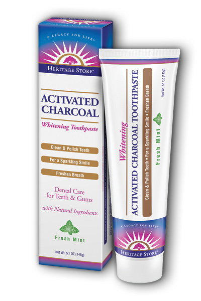 Activated Charcoal Toothpaste, 5.1oz