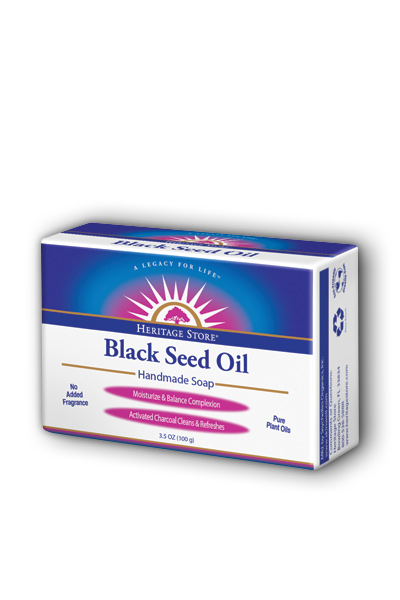 Heritage Store: Black Seed Oil Soap 3.5 oz