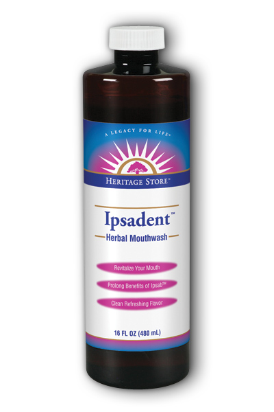Ipsadent Herbal Mouthwash, 16 fl oz