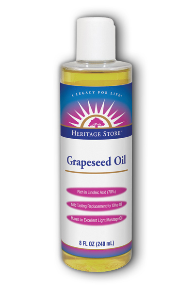 Heritage store: Grapeseed Oil 8 fl oz