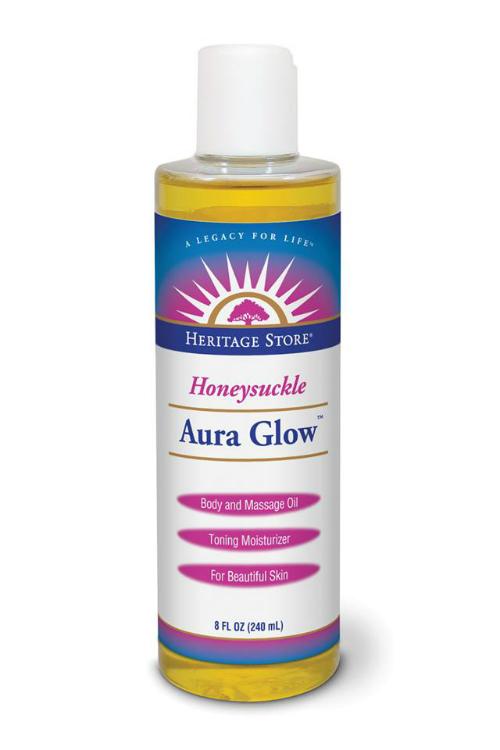 Heritage Store: Aura Glow Honeysuckle 8 oz Liq