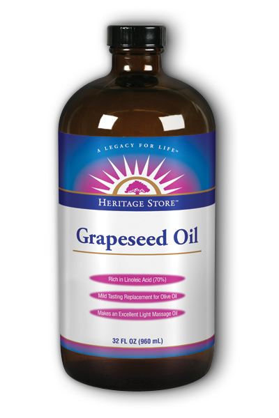 Heritage Store: Grapeseed Oil Frag Free 32 oz