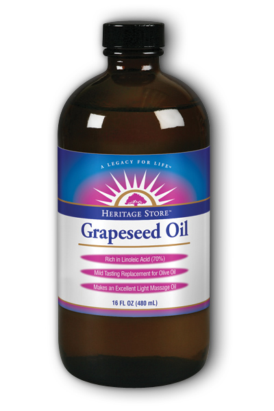 Heritage store: Grapeseed Oil 16 fl oz