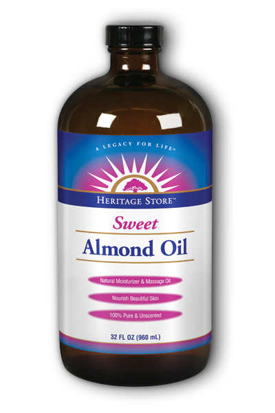 Almond Oil Sweet w/Vit E 32 oz from Heritage Store